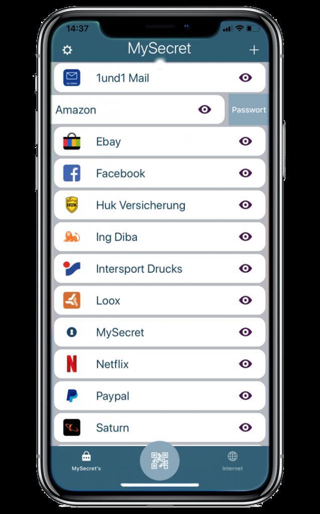 MySecret Kundenkarten & Online Shop Passwörter