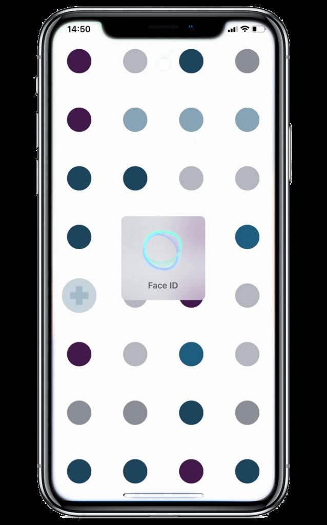 App Smartphone MySecret Kundenkarten & Online Shop Passwörter