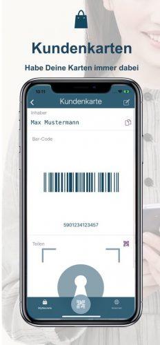 Kundenkarten mit MySecret